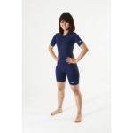 AS Adult sunsuit plain navy