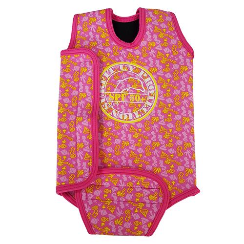 BWBP Baby wrap beach pink