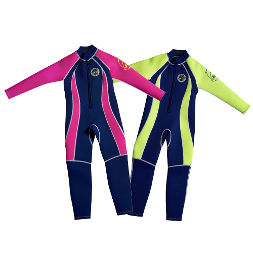 N – FW Full length wetsuit navy pink p18